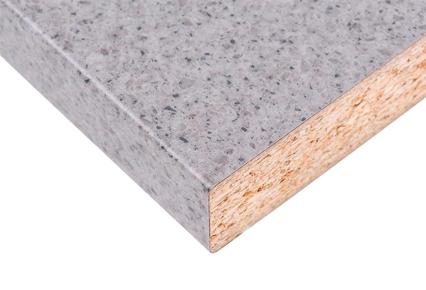 Encimera blanco granito gris oscuro ref 17544835 leroy for Encimeras granito leroy merlin