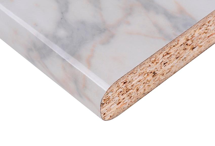 Encimera blanco marmol ref 17544751 leroy merlin - Embellecedor encimera leroy merlin ...