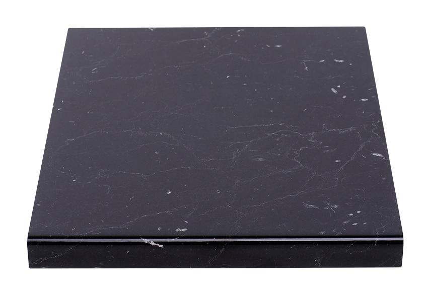 Encimera negro marquinado ref 17550071 leroy merlin - Embellecedor encimera leroy merlin ...