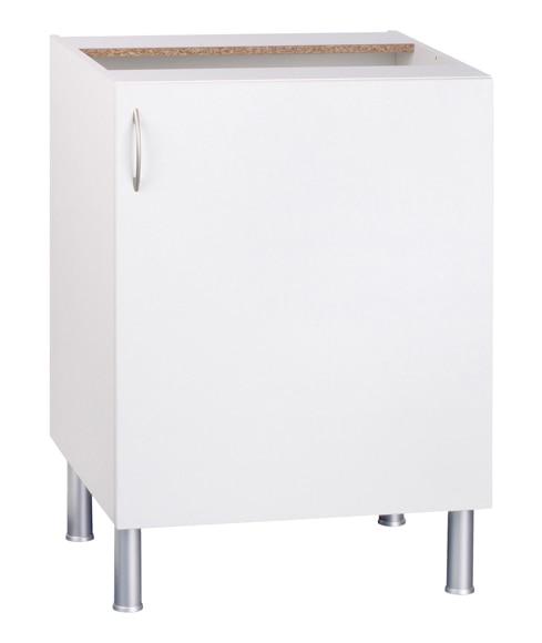 Bajo 70 16 x 60 basic blanco basic cocina blanco ref for Cocina basic leroy merlin