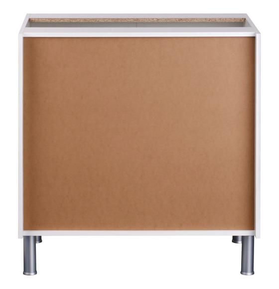 Bajo 70 16 x 80 basic blanco basic cocina blanco ref - Muebles cocina leroy merlin basic ...
