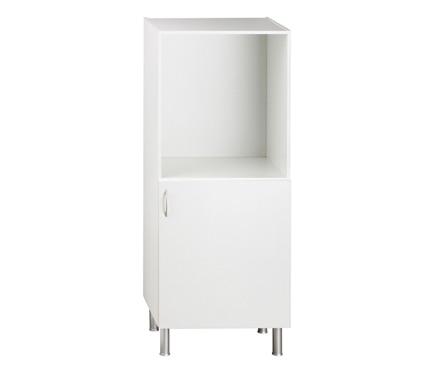 Semicolumna 140 x 60 basic cocina blanco ref 16462292 for Cocina basic leroy merlin