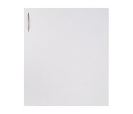 Puerta 60 x 70 blanca tirador y bisagras basic cocina for Bisagra puerta cocina