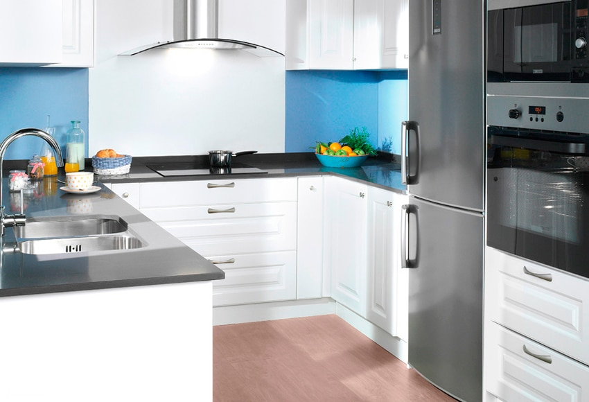 Cocina delinia gales blanco ref 16987810 leroy merlin - Leroy merlin encimeras de cocina ...