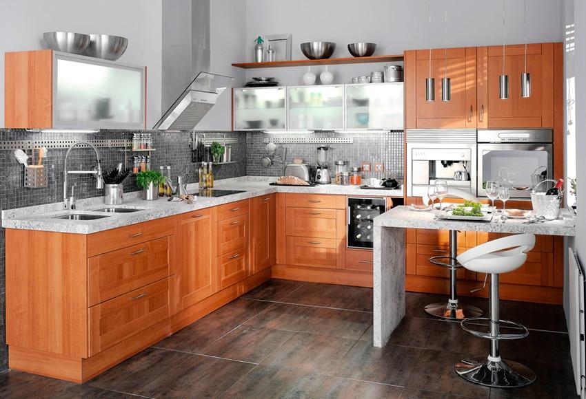 Cocina delinia jerte ref 16987852 leroy merlin for Cocinas delinia