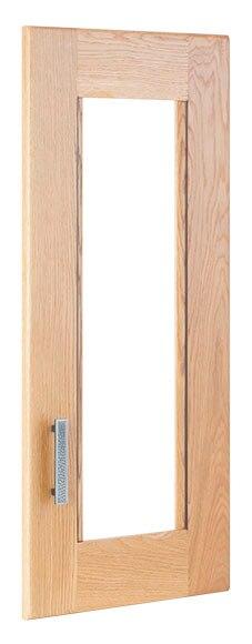 Puerta de vitrina delinia aspen natural ref 15007405 for Vitrinas leroy merlin