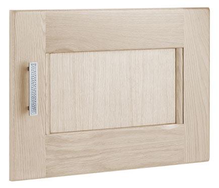 Puerta de vitrina delinia aspen roble ref 17507420 for Vitrinas leroy merlin
