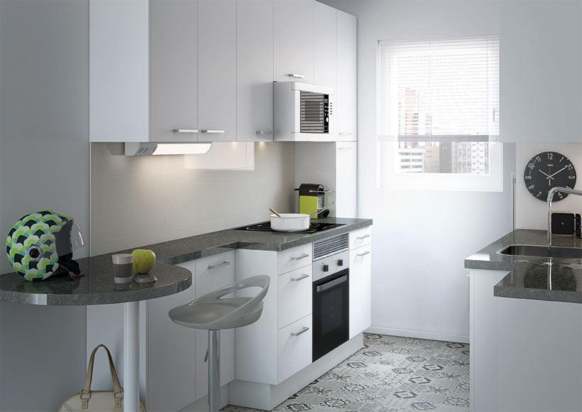 Reformas sin obras cambia tu cocina sin sacar la piqueta - Cambiar suelo cocina sin quitar muebles ...