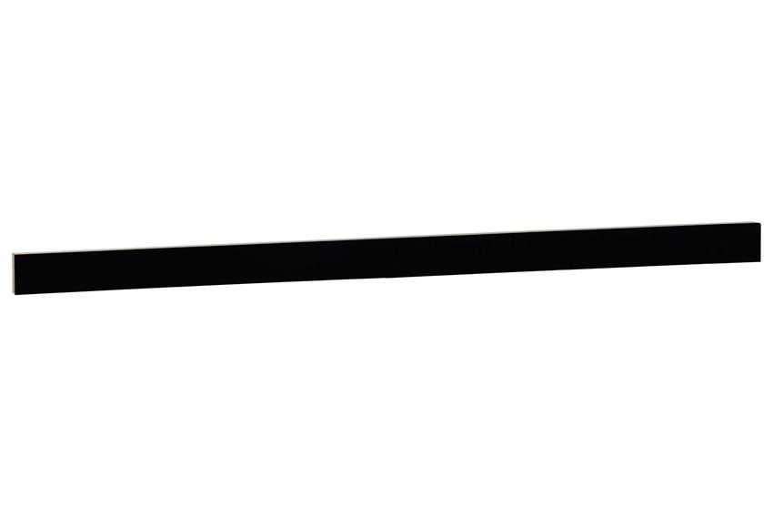 Z calo delinia new york negro brillo ref 16748081 leroy for Zocalo aluminio cocina leroy merlin
