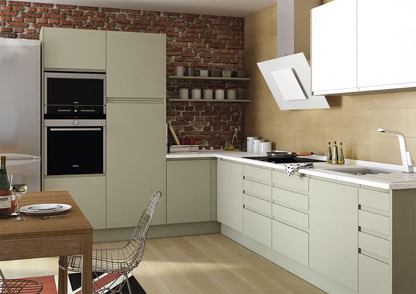 leroy merlin delinia affordable simple cuisine cuisine. Black Bedroom Furniture Sets. Home Design Ideas