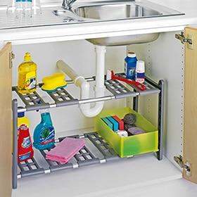 Cajones y accesorios delinia leroy merlin - Organizador armarios cocina ...