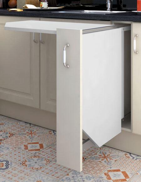 Accesorio extra ble mesa 15 cm mesa 120 m mb 15 ref for Mueble estrecho cocina