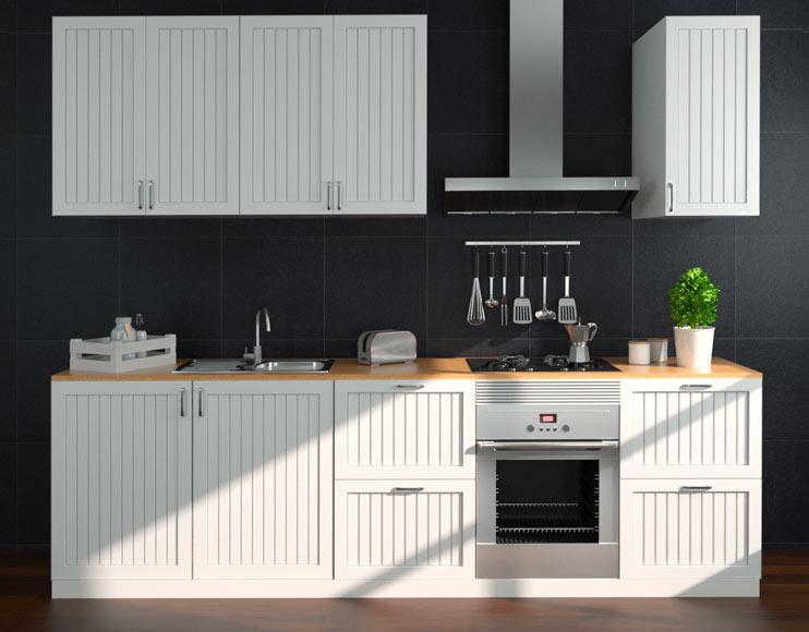 Cocina Delinia Toscane Blanco Ref 16988160