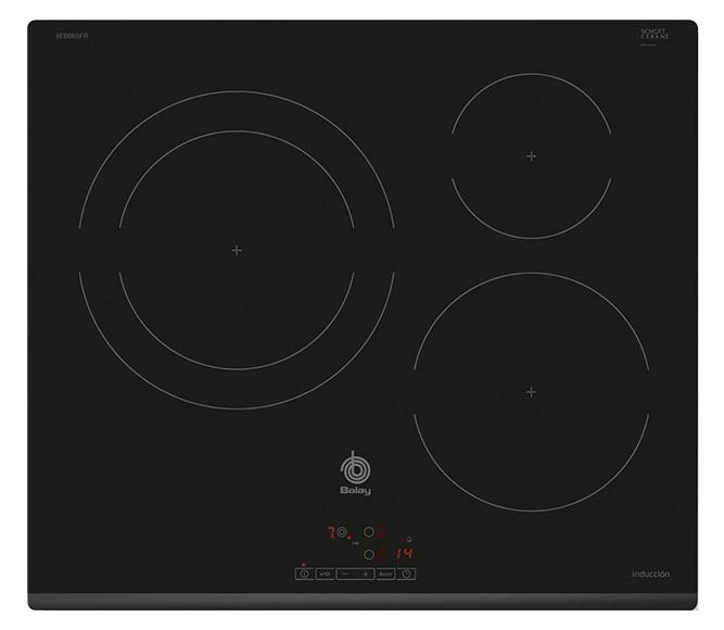 Placa de inducci n balay 3eb865fr ref 19725454 leroy merlin - Cocinas de induccion balay ...