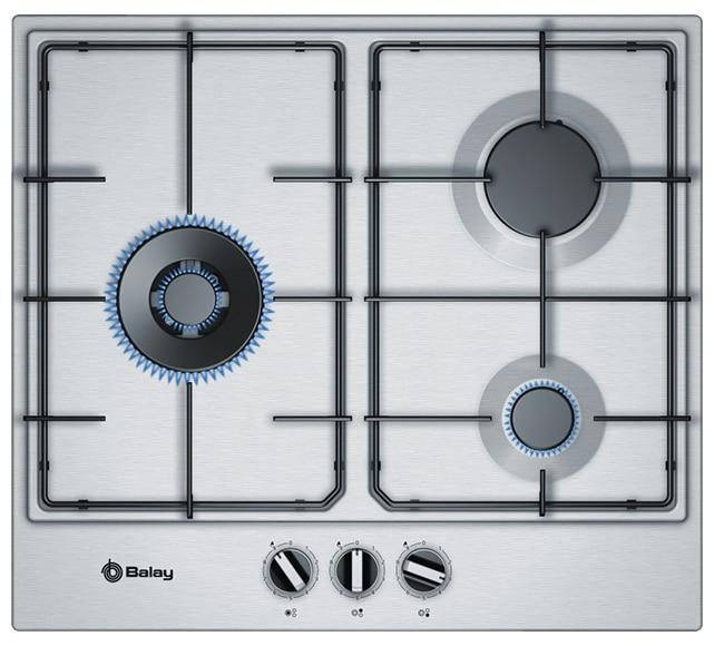 Placa de gas balay 3etx663 mb ref 19762190 leroy merlin for Placas de cocina de gas leroy merlin