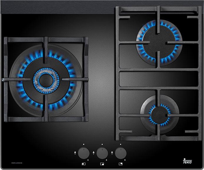 Placa de gas teka cgw lux 60 3g ai al tr ci ref 81878274 for Placas de cocina de gas leroy merlin