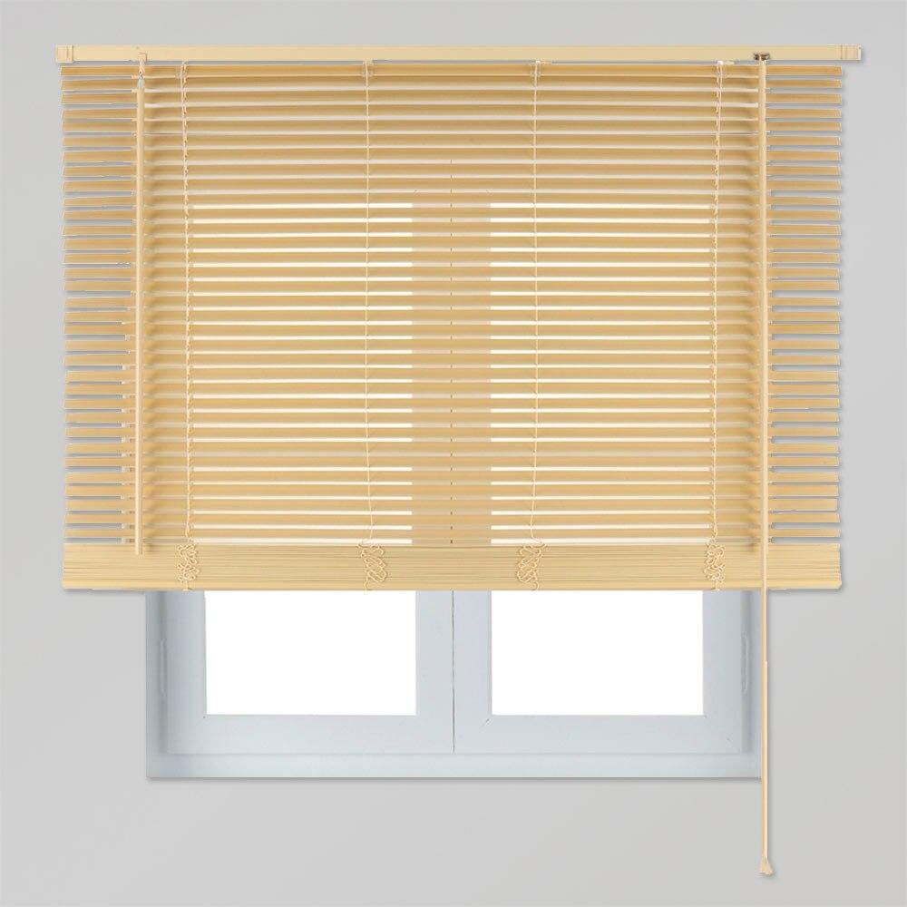 Veneciana de 80 x 130 cm madera 27mm haya ref 15400252 for Leroy merlin madera a medida