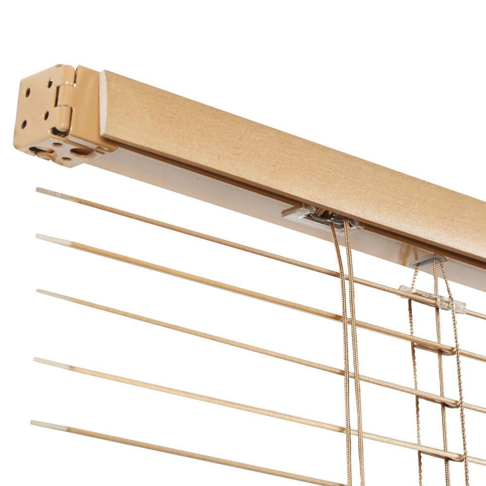 Veneciana de 120 x 150 cm inspire madera 27mm roble dorado for Cobertizos de madera leroy merlin