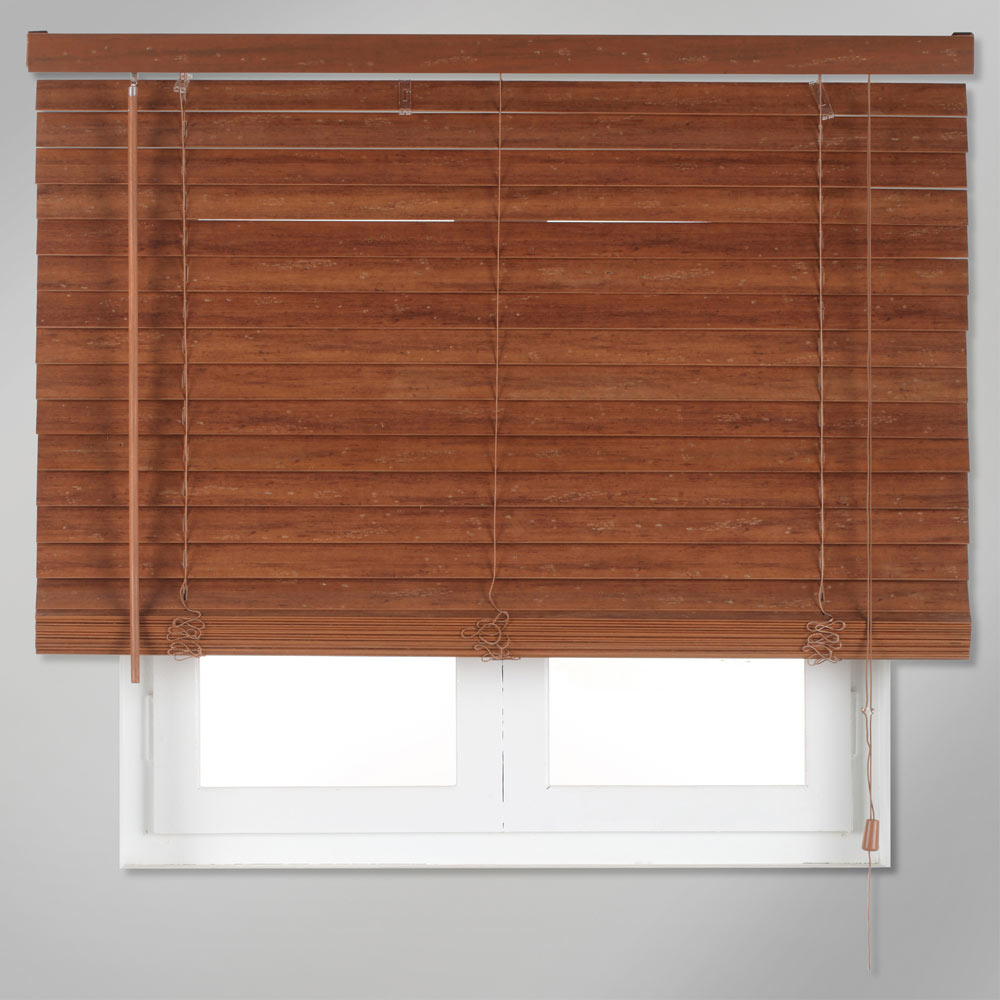 Veneciana de 120 x 250 cm inspire madera 50mm ref for Leroy merlin madera a medida