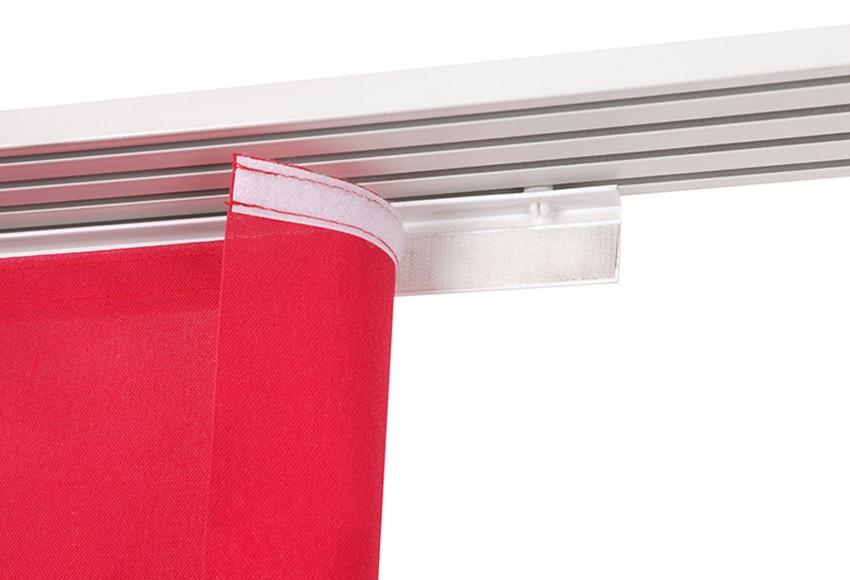 Panel japon s miranda rojo ref 17478020 leroy merlin for Riel panel japones leroy merlin
