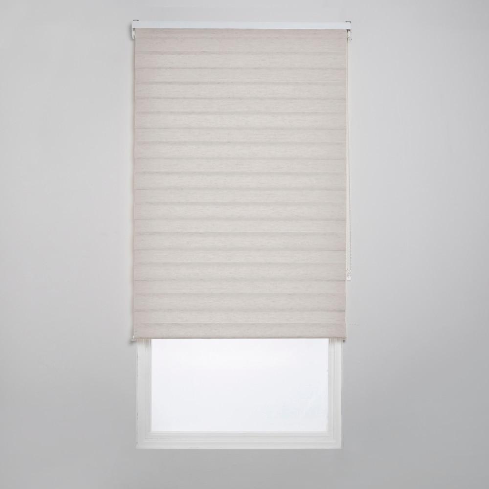 Estor enrollable 120 x 250 cm luca noche dia ref 16155412 - Leroy merlin dormitorios ...
