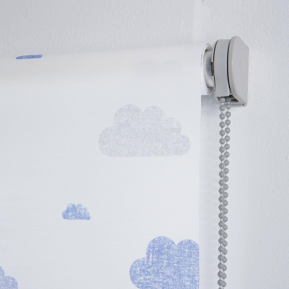 Estor enrollable 90 x 250 cm nubes ref 18579953 leroy - Estores para salon leroy merlin ...