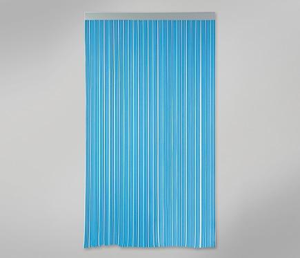 Cortina de puerta cintas azul ref 12029724 leroy merlin - Cortinas exteriores leroy merlin ...