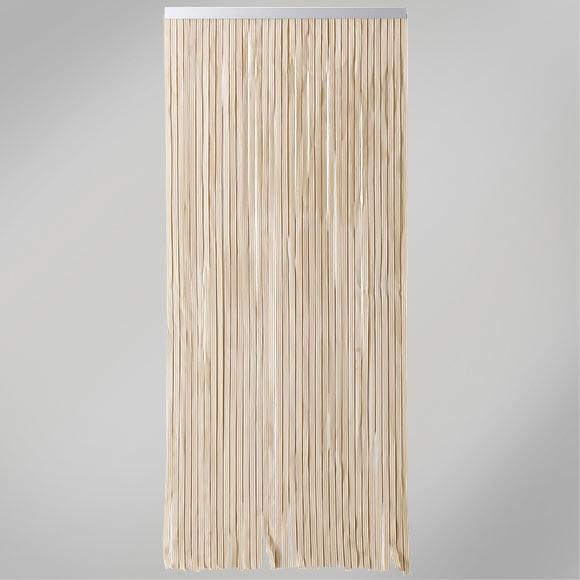 Cortina de puerta cintas marfil ref 12029745 leroy merlin for Cortinas para cocina leroy merlin