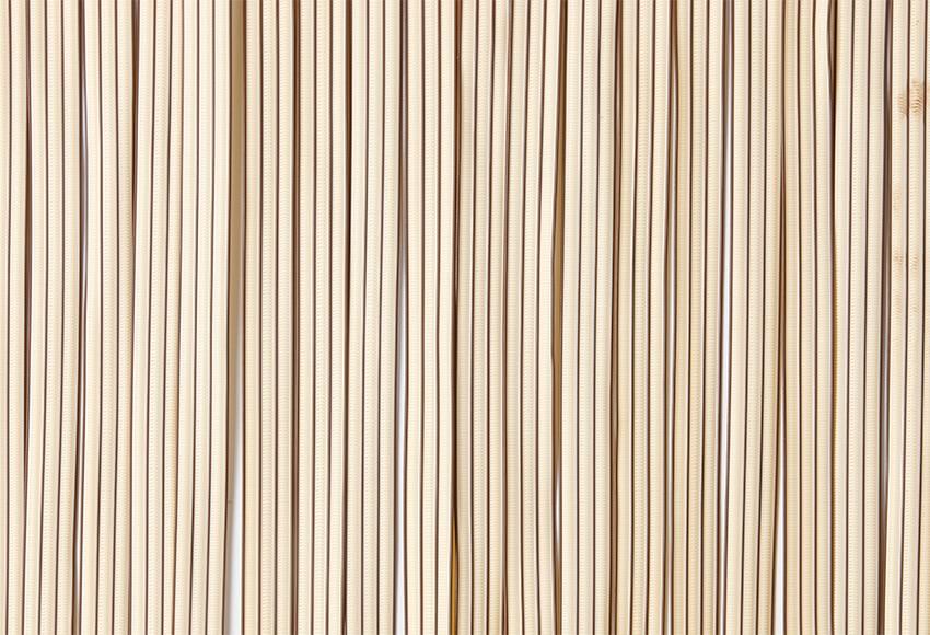 cortina de puerta cintas marfil ref 12029745 leroy merlin