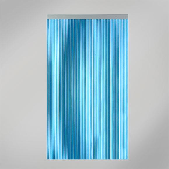 Cortina de puerta cintas azul ref 13805386 leroy merlin - Cortina puerta leroy merlin ...