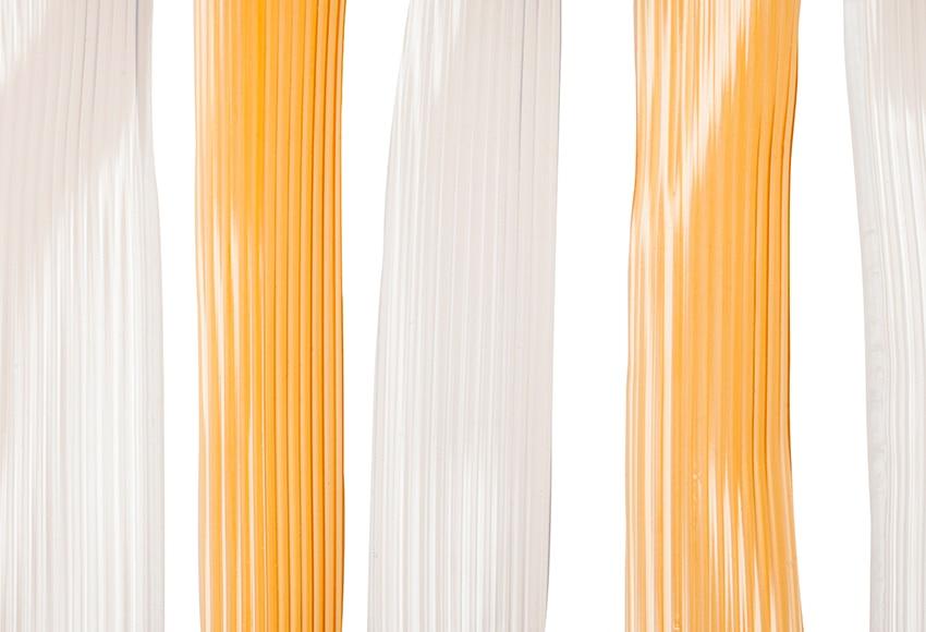 Cortina de puerta almada naranja ref 16719024 leroy merlin for Cortinas naranjas