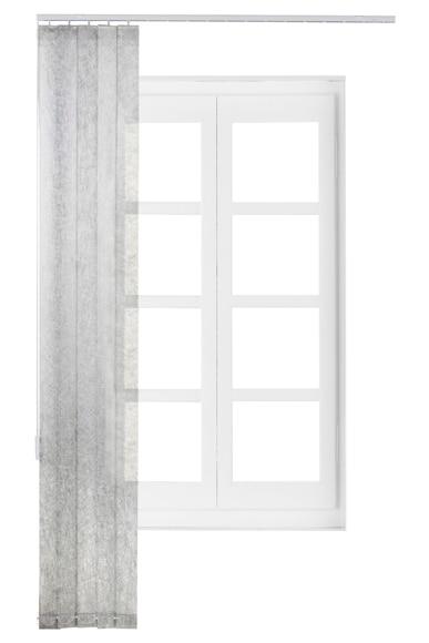 Cortina lamas verticales ref 16715510 leroy merlin - Cortinas de lamas verticales ...