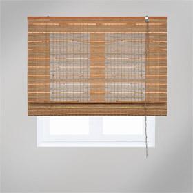 bamb jaipur marrn - Estores De Bambu