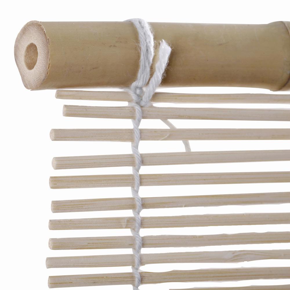 Colocar cuerda estor bambu estores enrollables screen - Estores de plastico ...