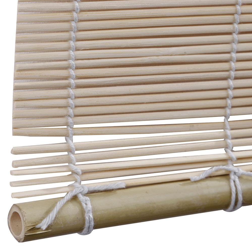 Estor enrollable bamb salinas beige ref 15354290 leroy - Cortinas de leroy merlin ...