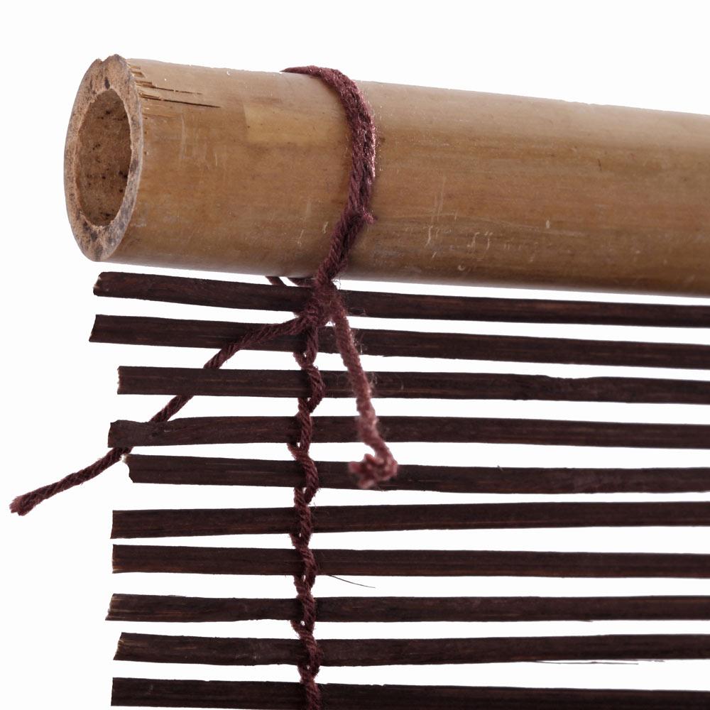 Estor enrollable bamb salinas marr n ref 15354381 - Leroy merlin estores bambu ...