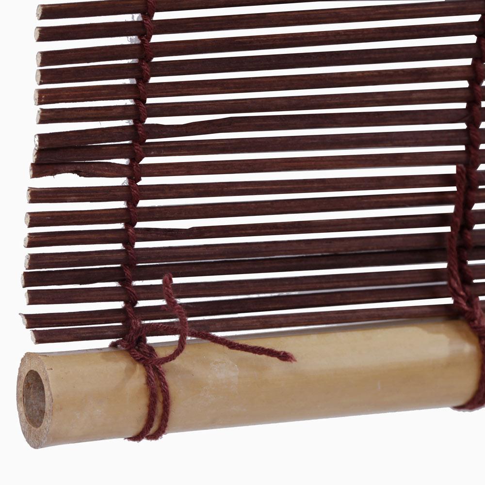 Estor enrollable bamb salinas marr n ref 15354395 - Persianas alicantinas leroy merlin ...