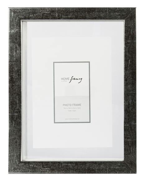 Marco de 21 x 29 7 cm cristal plata ref 17913581 leroy merlin - Marcos de cristal ...