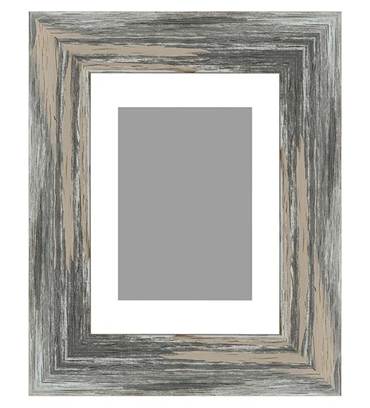 marco con moldura de 40 x 50 cm ebro gris ref 16129834