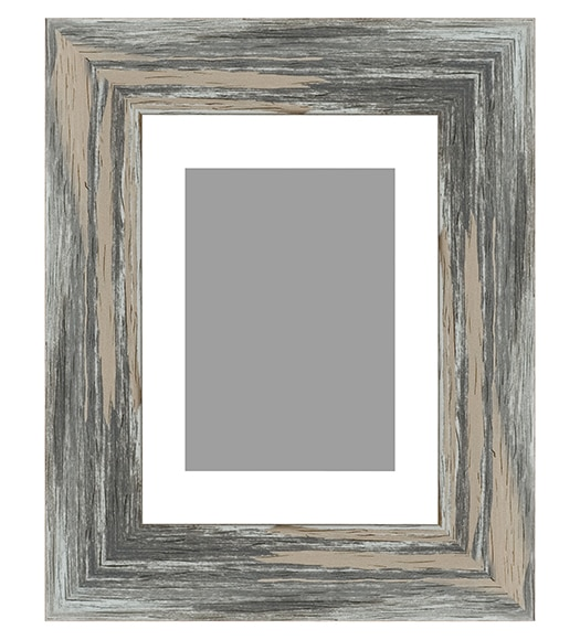 Marco de 60 x 80 cm ebro gris ref 16129876 leroy merlin for Molduras madera leroy merlin
