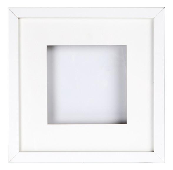 Cuadro vitrina de 25 x 25 cm LARIO BLANCO VITRINA Ref. 16749432 ...