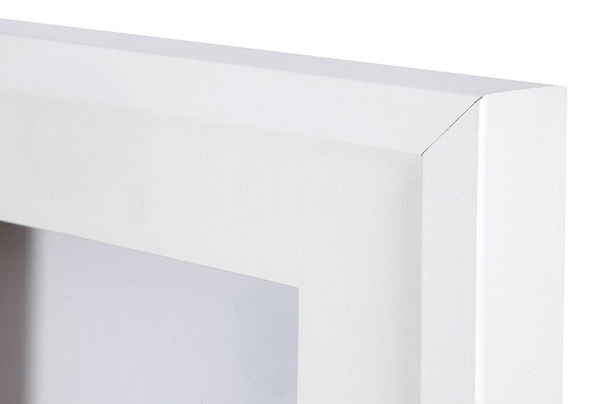 Cuadro vitrina de 25 x 25 cm lario blanco vitrina ref for Vitrinas leroy merlin