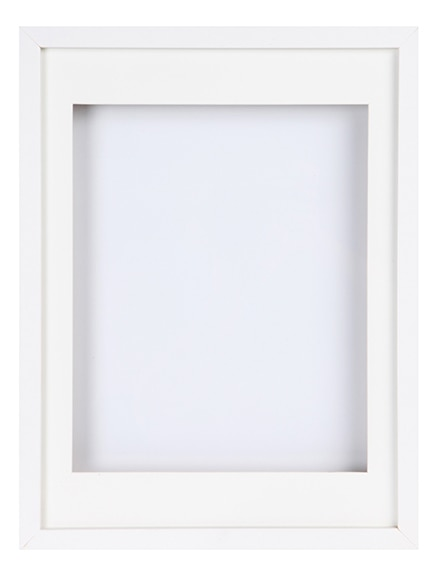 Cuadro vitrina de 30 x 40 cm lario blanco vitrina ref for Vitrinas leroy merlin