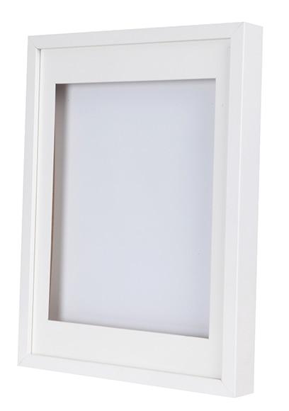 Cuadro vitrina de 30 x 90 cm lario blanco vitrina ref for Vitrinas leroy merlin
