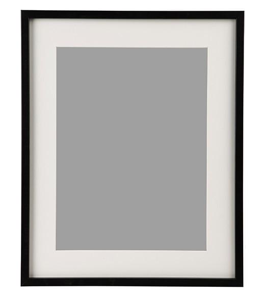 Marco de 40 x 50 cm inspire lario negro marco ref - Cuadros y laminas leroy merlin ...
