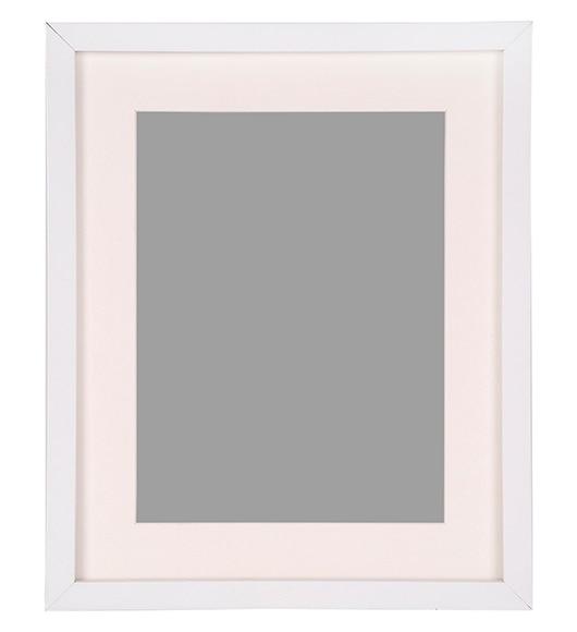 Marco de 24 x 30 cm milo blanco marco ref 19413310 - Marcos a medida leroy merlin ...