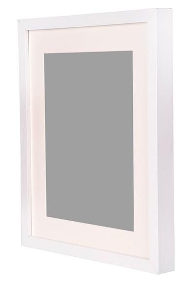 Cuadro de 30 x 40 cm milo blanco marco ref 19413345 Marcos de cuadros blancos