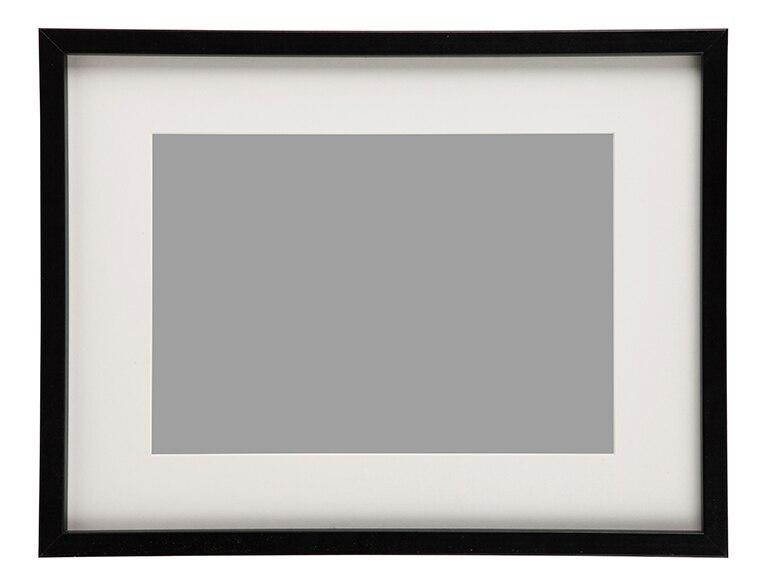 Marco de 30 x 40 cm milo negro marco ref 19412764 leroy - Leroy merlin marcos de fotos ...