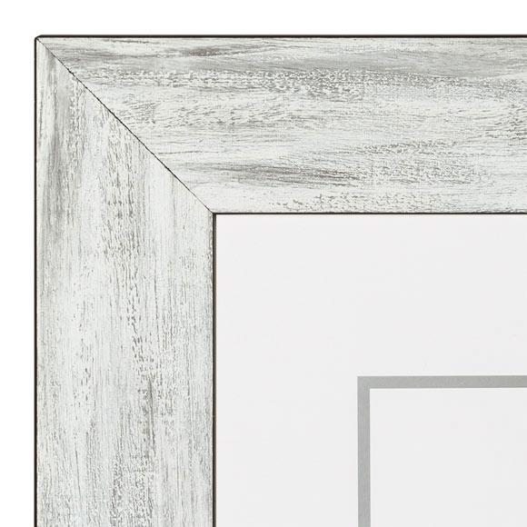 Marco de 50 x 70 cm nieve blanco negro ref 17913364 - Leroy merlin marcos 30x40 ...