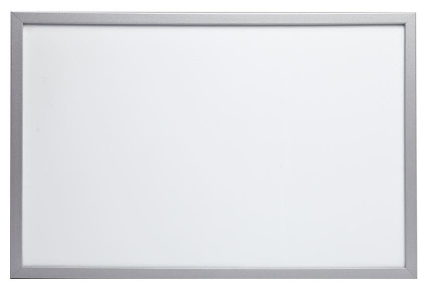 Pizarra magnética MARCO SILVER 90X60 cm Ref. 15355550 - Leroy Merlin